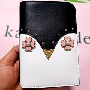 BNWT Kate Spade Passport Holder